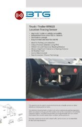 Truck – Trailer Location Tracing System RFR025